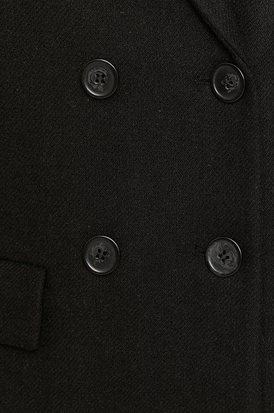 negru Medicine - Palton Timeless Black