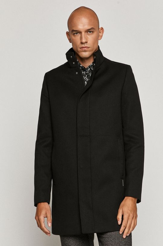 čierna Medicine - Kabát Monochromatic Pánsky
