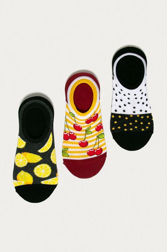viacfarebná Medicine - Členkové ponožky Funny(3-pak) Dámsky
