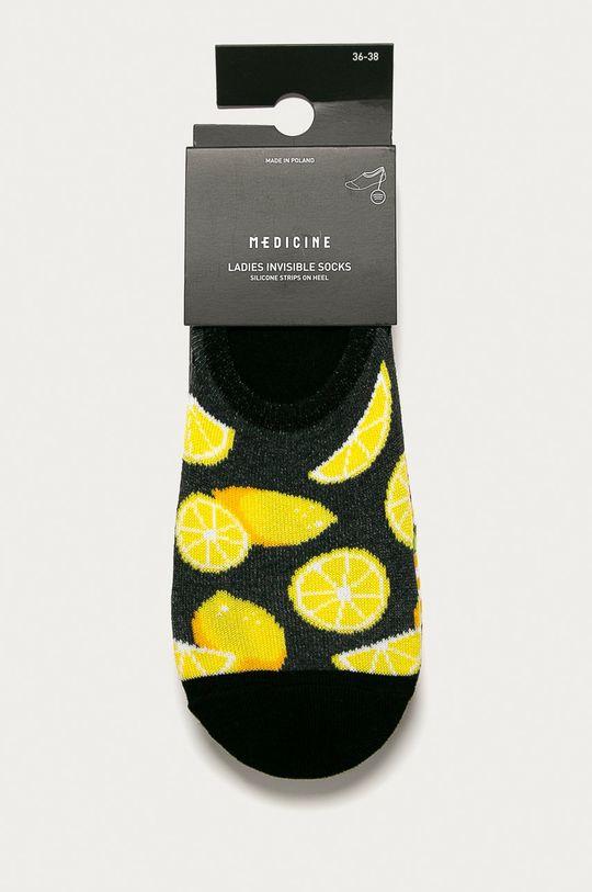 Medicine - Členkové ponožky Funny(3-pak) viacfarebná