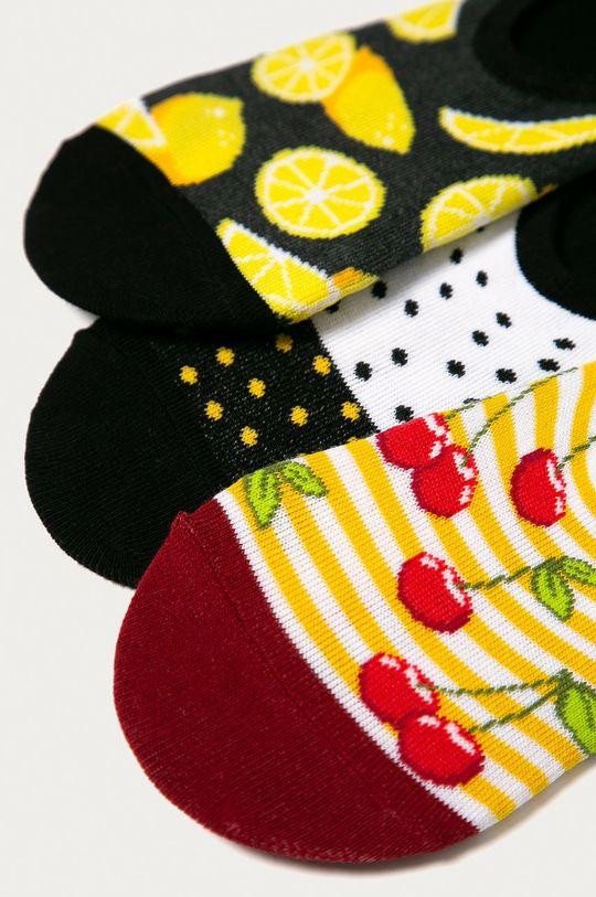 Medicine - Členkové ponožky Funny(3-pak)  75% Bavlna, 2% Elastan, 23% Polyamid