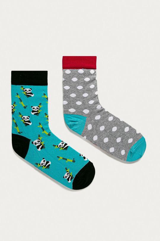 viacfarebná Medicine - Ponožky Animals (2-pak) Dámsky