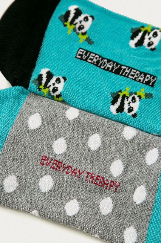 Medicine - Ponožky Animals (2-pak)  75% Bavlna, 2% Elastan, 23% Polyamid
