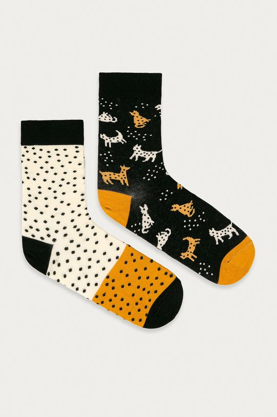vícebarevná Medicine - Ponožky Animals (2-pack) Dámský