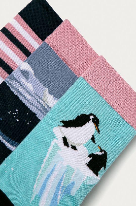Medicine - Ponožky Animals (3-PACK) vícebarevná