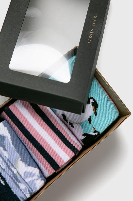 vícebarevná Medicine - Ponožky Animals (3-PACK)