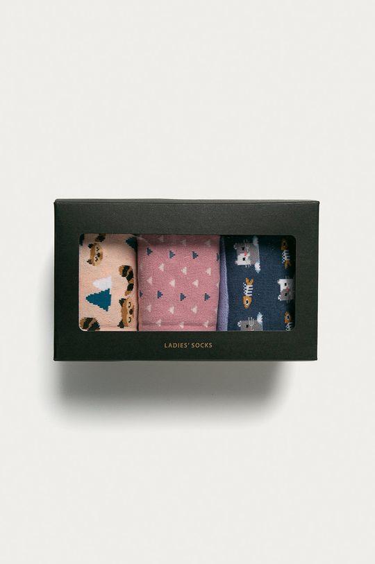 multicolor Medicine - Skarpetki Animals (3-PACK)