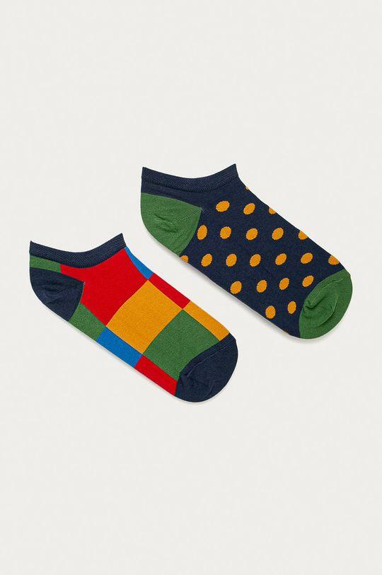 viacfarebná Medicine - Členkové ponožky Basic Pánsky