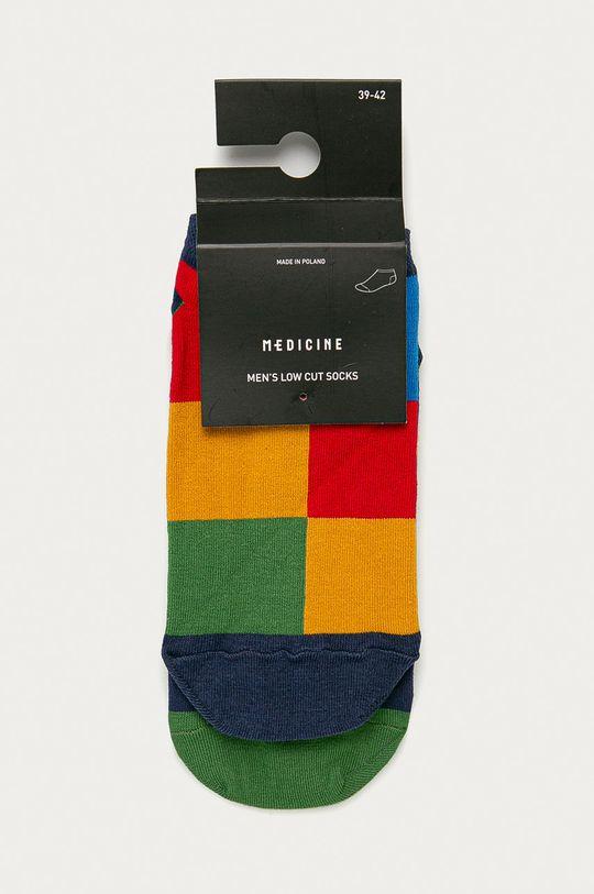 Medicine - Členkové ponožky Basic viacfarebná