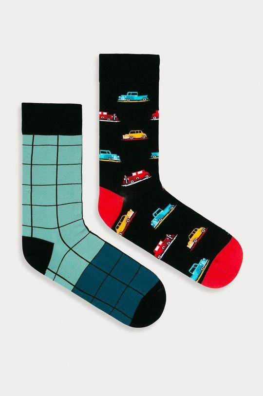 viacfarebná Medicine - Ponožky Funny (2-pak) Pánsky