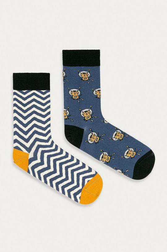 vícebarevná Medicine - Ponožky Animals (2-pack) Pánský