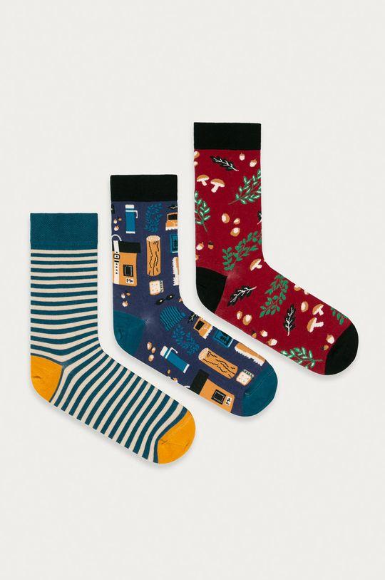 vícebarevná Medicine - Ponožky Funny (3-pack) Pánský