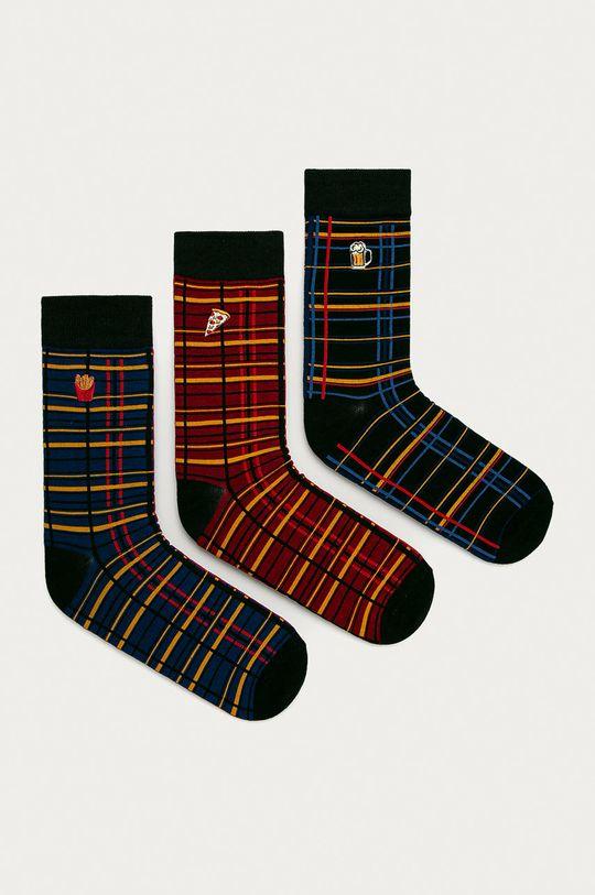vícebarevná Medicine - Ponožky Basic (3-pack) Pánský