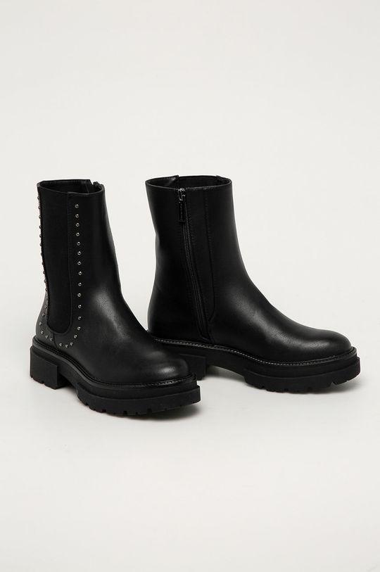 Medicine - Členkové topánky Black Art čierna