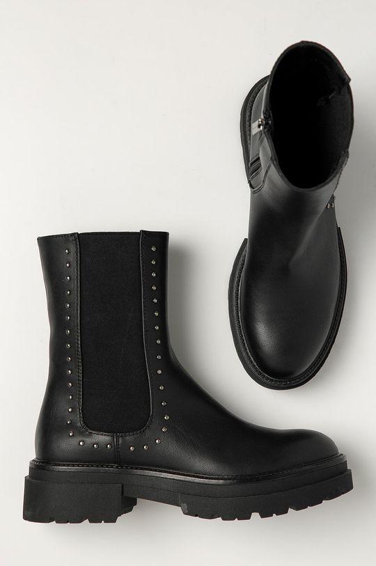 čierna Medicine - Členkové topánky Black Art
