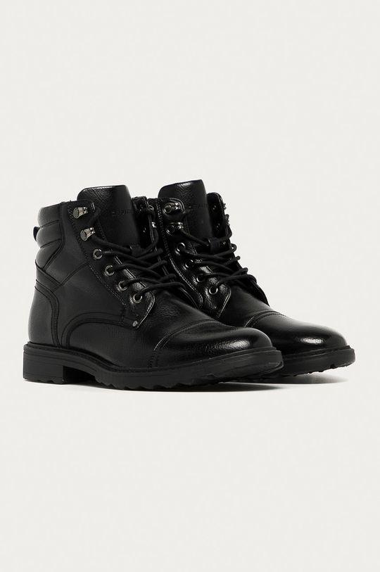 Medicine - Kotníkové boty Monochromatic černá