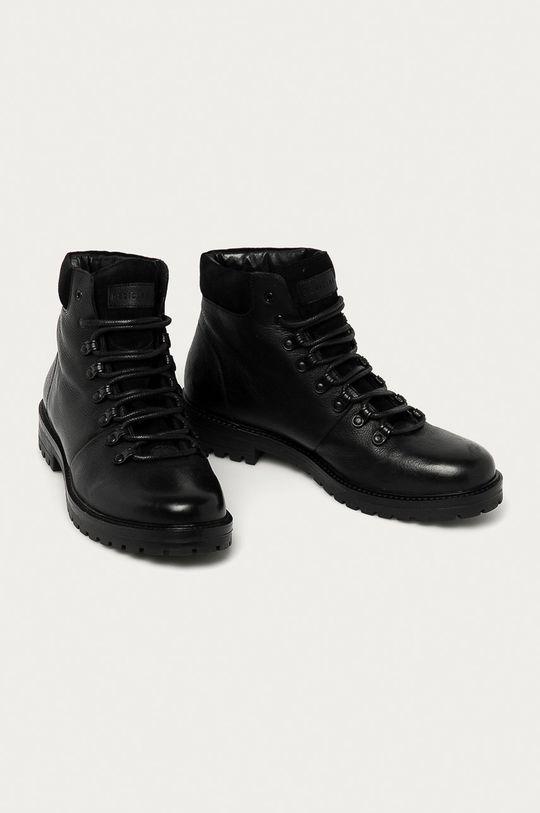 Medicine - Kožené boty Lux Black černá
