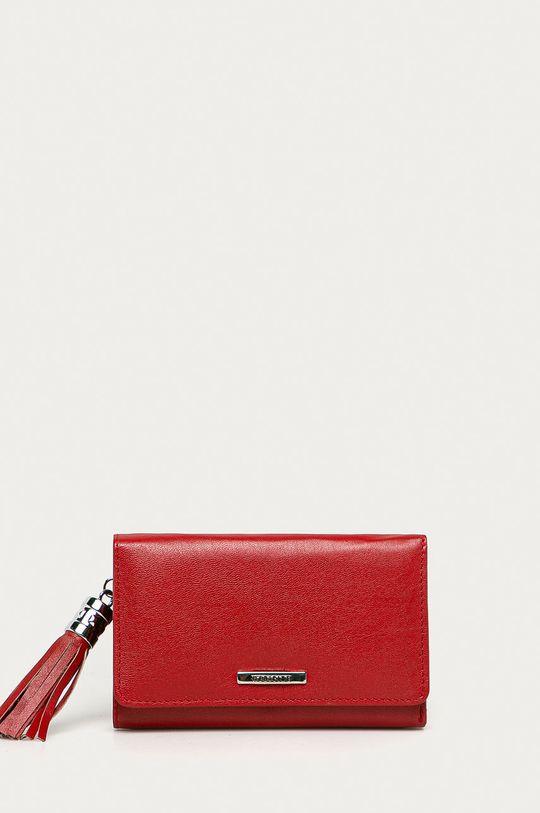 červená Medicine - Kožená peňaženka Basic Dámsky
