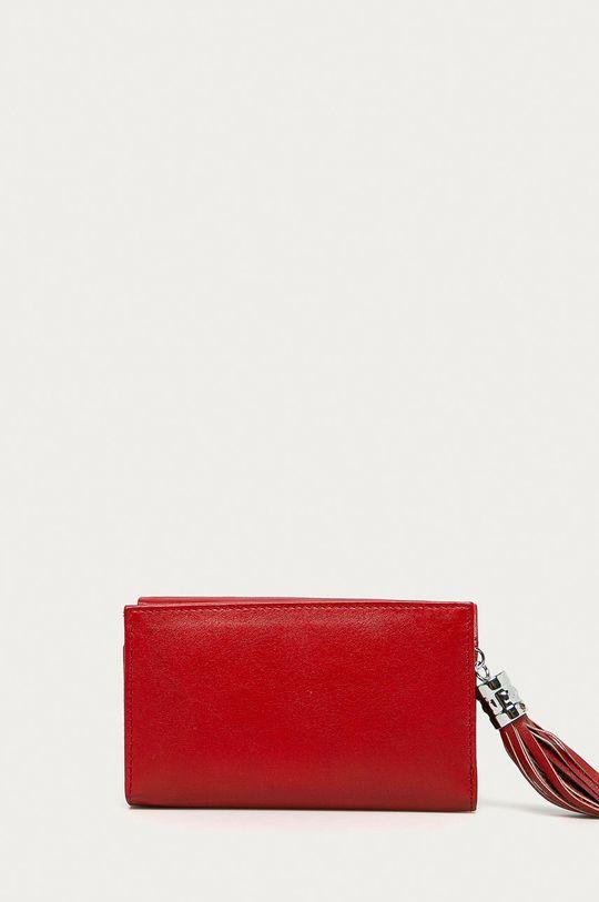 červená Medicine - Kožená peňaženka Basic