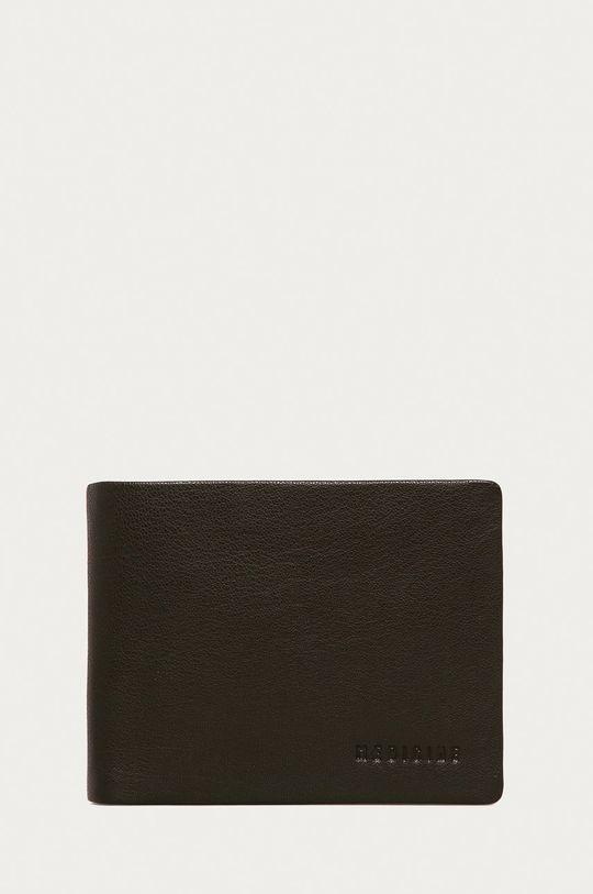 hnedá Medicine - Kožená peňaženka Basic Pánsky