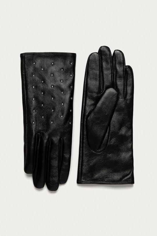negru Medicine - Manusi de piele Basic De femei