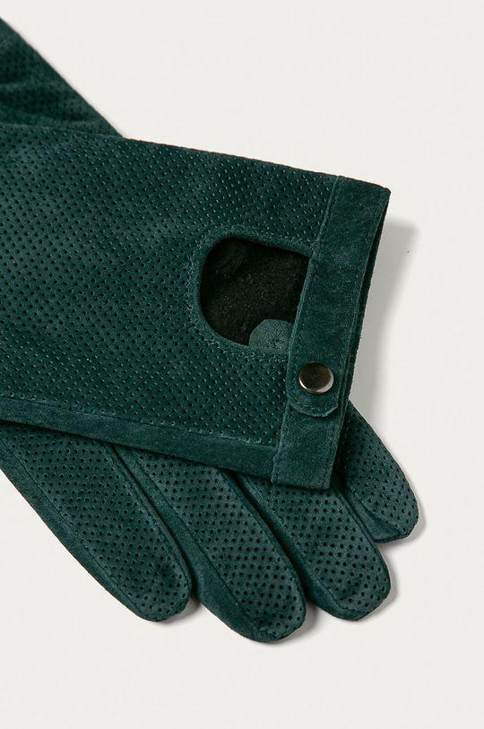 Medicine - Manusi de piele Basic verde inchis