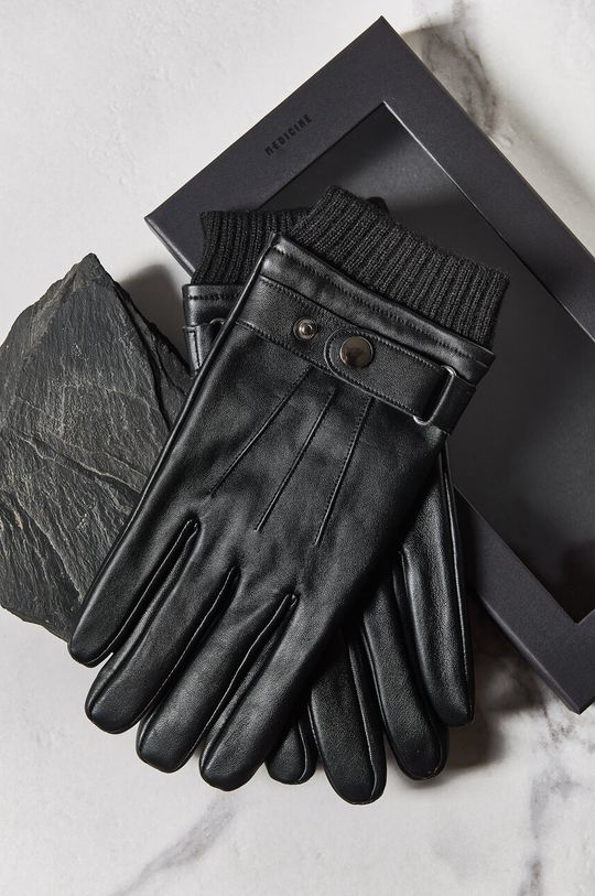 czarny Medicine - Rękawiczki Basic Męski