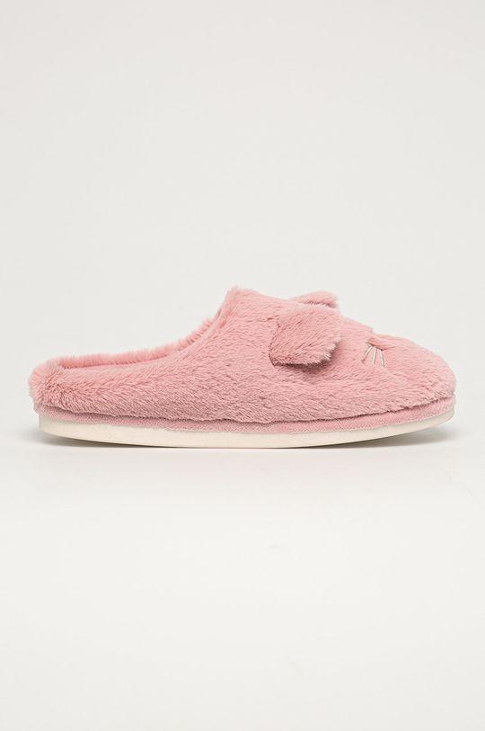 Medicine - Pantofle Gifts pastelově růžová
