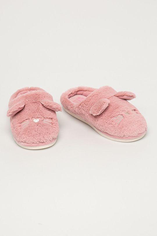 pastelově růžová Medicine - Pantofle Gifts Dámský