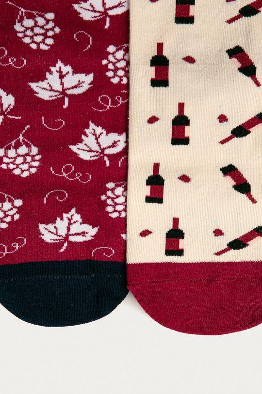 Medicine - Zestaw prezentowy: skarpetki (2-pack) i korek do wina Gifts Materiał 1: 23 % Poliamid, 2 % Elastan, 75 % Bawełna, Materiał 2: 100 % Cynk