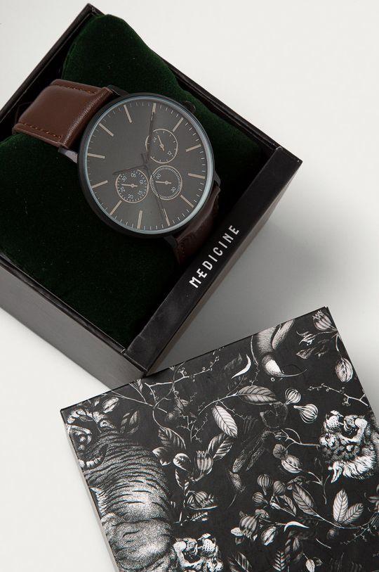 brązowy Medicine - Zegarek Gifts Męski