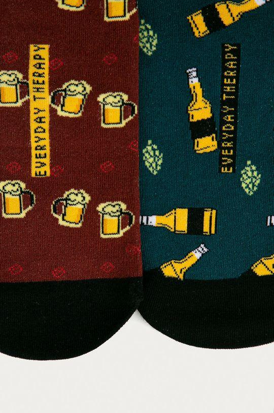 Medicine - Dárková sada: ponožky (2 - pack) a otvírák na lahve Gifts  Materiál č. 1: 100% Zinek Materiál č. 2: 75% Bavlna, 2% Elastan, 23% Polyamid
