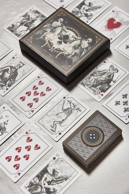 czarny Medicine - Karty do gry Gifts Unisex