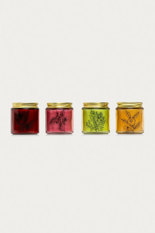 Medicine - Vonná sviečka Gifts (4-pak)  5% Cín, 20% Sklo