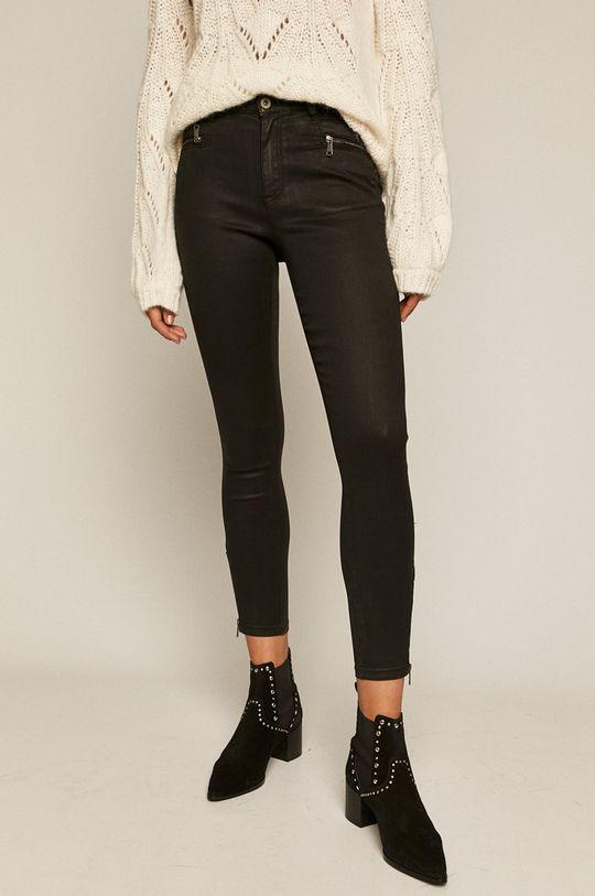 negru Medicine - Pantaloni Timeless Black De femei