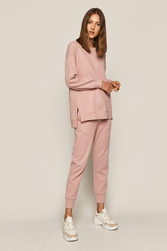 Medicine - Kalhoty Comfort Zone pastelově růžová