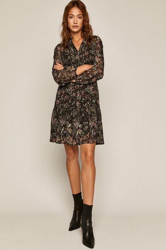 Medicine - Sukienka Herbaria czarny