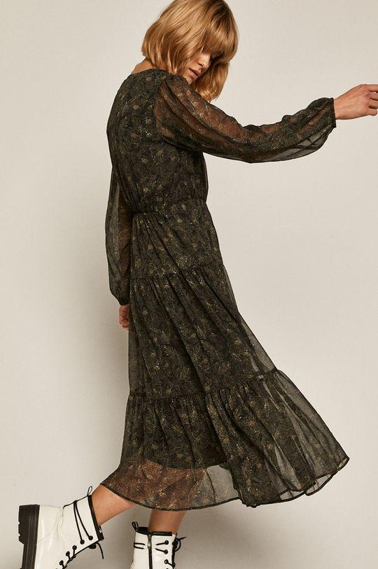 czarny Medicine - Sukienka Black Art Damski