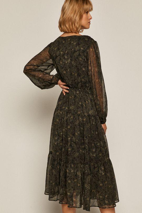 czarny Medicine - Sukienka Black Art