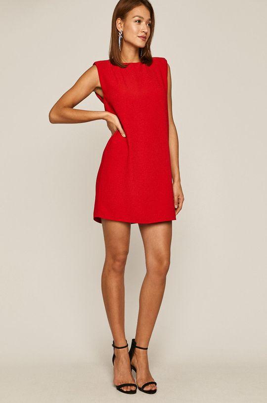 czerwony Medicine - Sukienka Glitch Damski
