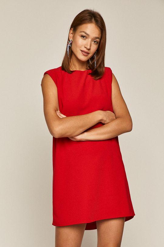 Medicine - Sukienka Glitch czerwony