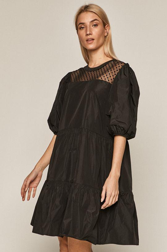 Medicine - Šaty Glitch čierna