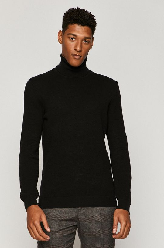 czarny Medicine - Sweter Basic