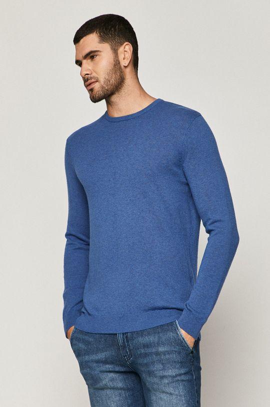 niebieski Medicine - Sweter Basic Męski