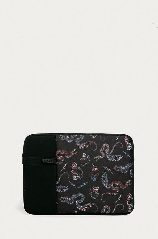 černá Medicine - Obal na notebook Cards Pánský