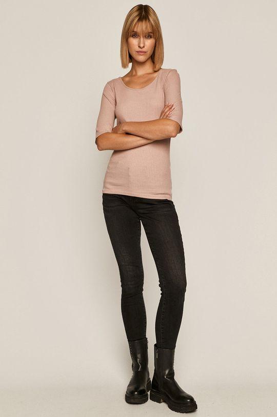 Medicine - T-shirt Basic pastelowy różowy