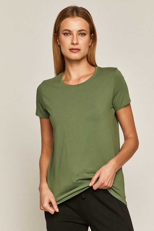 hnedo zelená Medicine - Tričko Basic Dámsky