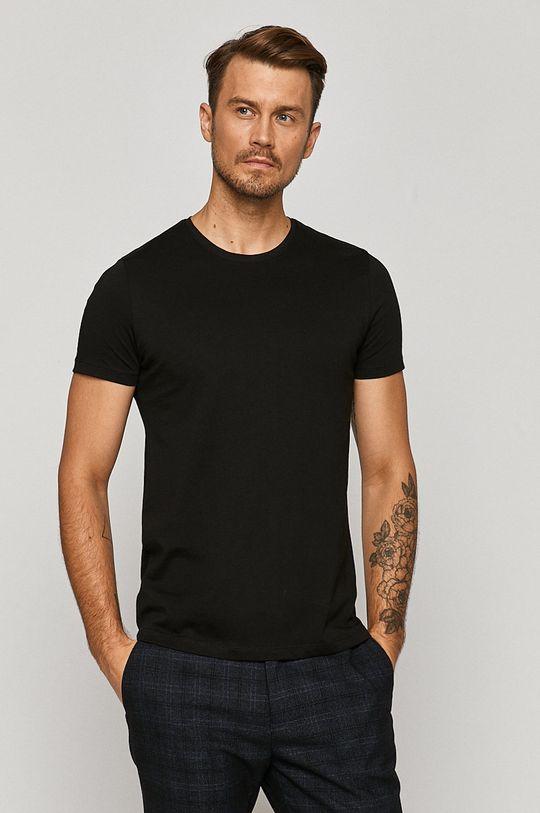 negru Medicine - Tricou Basic De bărbați