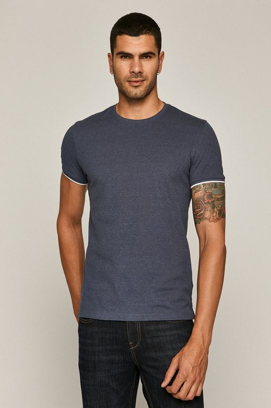 bleumarin Medicine - Tricou Basic De bărbați
