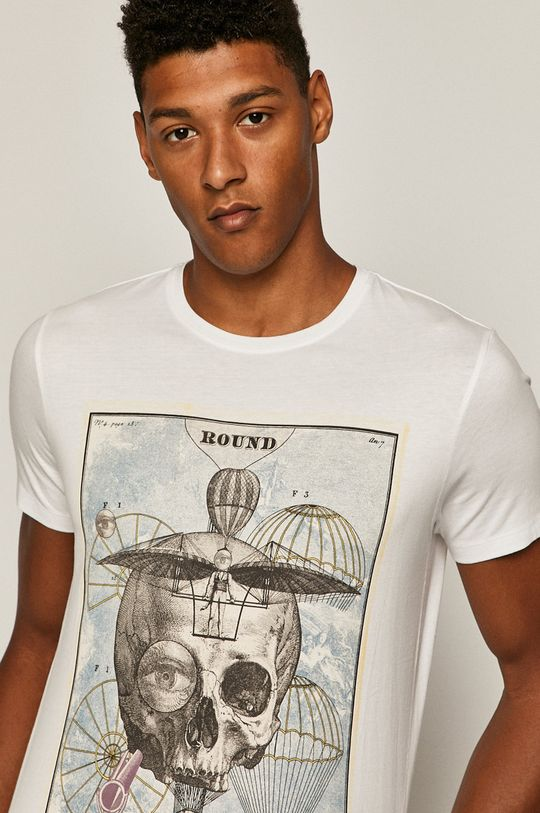 biały Medicine - T-shirt Simplicity Interrupted Męski